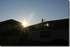 元旦の朝日
